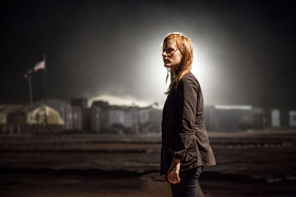 Jessica Chastain stars in 'Zero Dark Thirty'