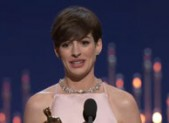 Anne Hathaway 2013 Best Supporting Actress Oscar Speech