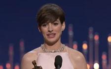 Anne Hathaway 2013 Best Supporting Actress Oscar Speech