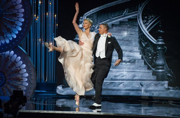 Charlize Theron and Channing Tatum 2013 Oscars Dance Number
