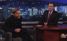 Ewan McGregor on Jimmy Kimmel