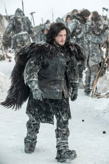 Kit Harington as Jon Snow in season 3 of Game of Thrones.