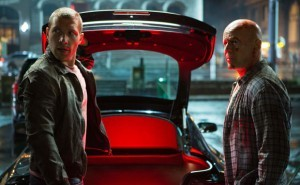 Jai Courtney and Bruce Willis star in 'A Good Day to Die Hard'