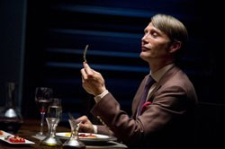 Mads Mikkelson as Dr. Hannibal Lecter in Hannibal