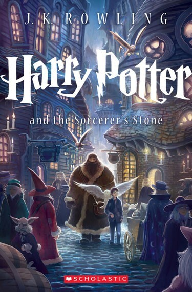 New Harry Potter and the Sorcerer's Stone Cover