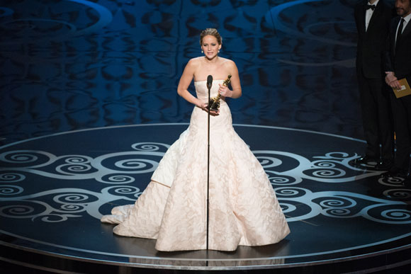 Jennifer Lawrence 2013 Oscar Best Actress Speech