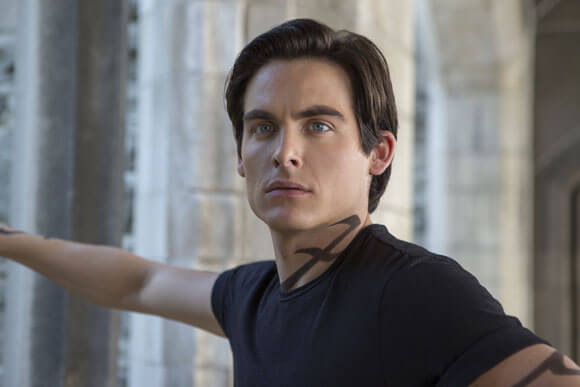 Kevin Zegers in The Mortal Instruments: City of Bones