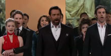 Les Miserables Cast Sings at the 2013 Oscars