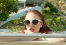 Lindsay Lohan stars in The Canyons