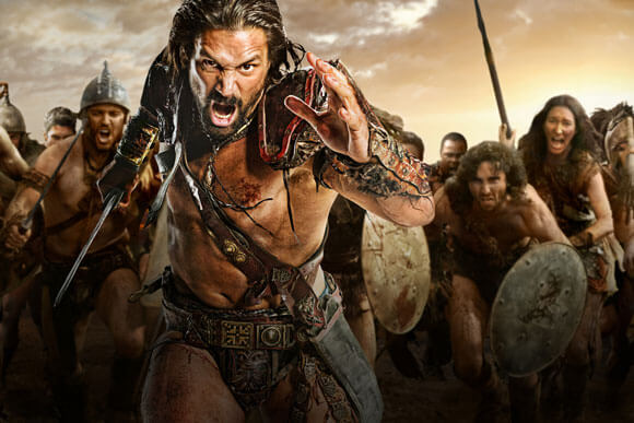 Manu Bennett as Crixus in 'Spartacus: War of the Damned'