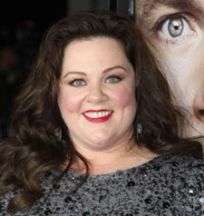 Melissa McCarthy at the Identity Thief premiere