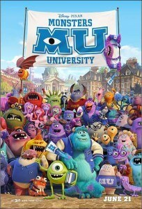 Monsters University Theatrical Poster