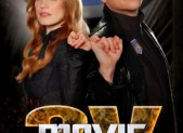 Movie: The Movie 2V Poster with Jessica Chastain and Jimmy Kimmel
