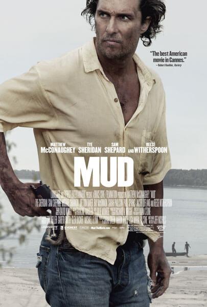 Mud Movie Poster with Matthew McConaughey