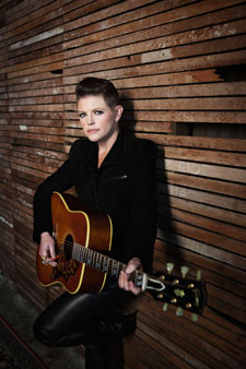 Natalie Maines and Guitar Photo