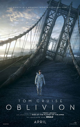 Tom Cruise Oblivion Poster