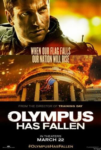 Olympus Has Fallen Poster with Gerard Butler
