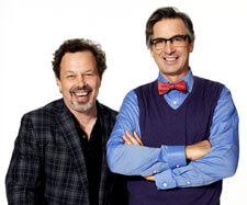 Curtis Armstrong and Robert Carradine host 'King of the Nerds'