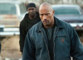 Michael K Williams and Dwayne Johnson in 'Snitch'