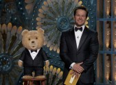 Ted and Mark Wahlberg present at the Oscars