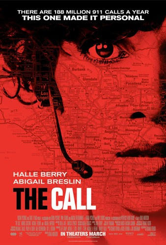 The Call Movie Poster with Halle Berry