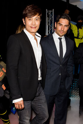 Byung-hun Lee and D.J. Cotrona