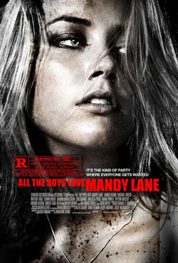 All the Boys Love Mandy Lane Poster with Amber Heard