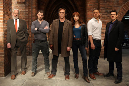 The Cast of Crossing Lines