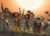 The Croods Family Photo