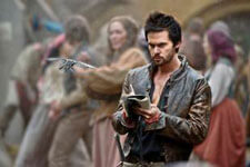 Tom Riley stars in Da Vinci's Demons
