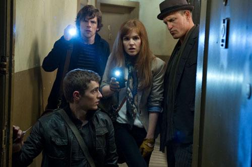 Dave Franco, Jesse Eisenberg, Isla Fisher and Woody Harrelson