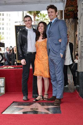 Dave Franco, Betsy Franco, and James Franco
