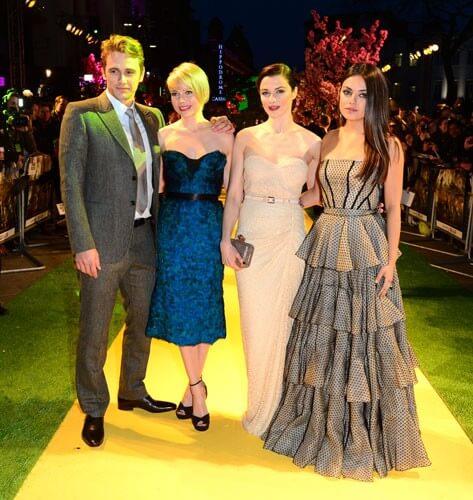 James Franco, Michelle Williams, Rachel Weisz and Mila Kunis Photo