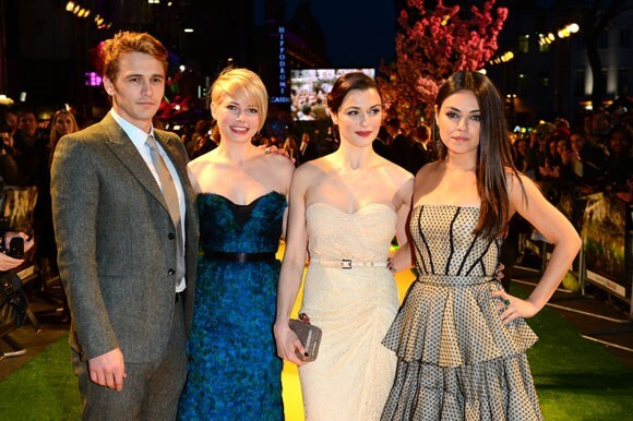 James Franco, Michelle Williams, Rachel Weisz, and Mila Kunis from 'Oz The Great and Powerful'