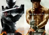 GI Joe Snake Eyes vs Storm Shadow