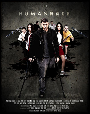 The Human Race Poster Starring Eddie McGee