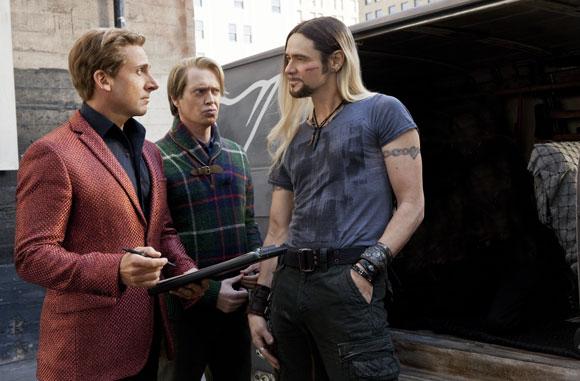 Steve Carell, Steve Buscemi, and Jim Carrey star in The Incredible Burt Wonderstone