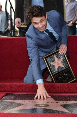 James Franco Walk of Fame Ceremony