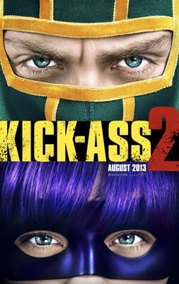 Kick Ass 2 Poster and Restricted Trailer