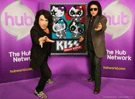 Gene Simmons Introduces Kiss Hello Kitty
