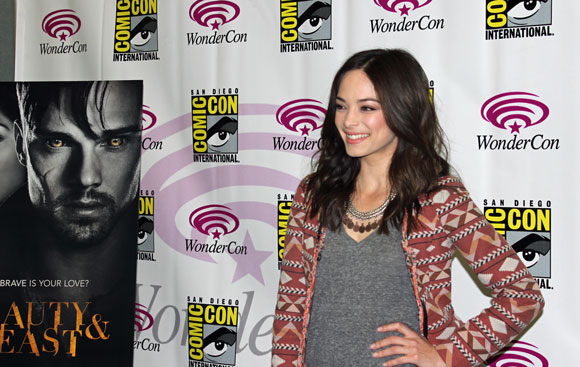 Kristin Kreuk from Beauty and the Beast at the 2013 WonderCon in Anaheim CA