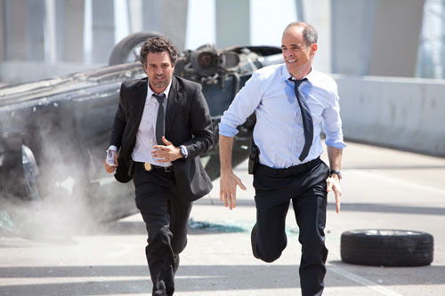 Mark Ruffalo and Michael Kelly in 'Now You See Me'