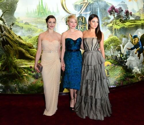 Rachel Weisz, Michelle Williams, and Mila Kunis from 'Oz The Great and Powerful'