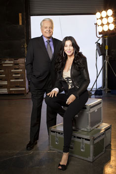 Robert Osborne and Cher
