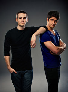 Dylan O'Brien and Tyler Posey Star in Teen Wolf