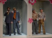 Andy Samberg, Justin Timberlake, Dan Aykroyd, and Steve Martin on SNL