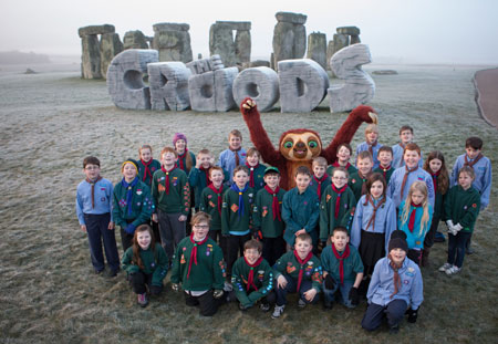 The Croods at Stonehenge