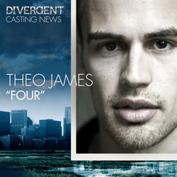 Theo James Stars as Four in Divergent