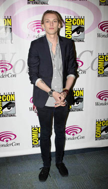 Jamie Campbell Bower at the 2013 WonderCon