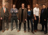 Crossing Lines TV Series Cast